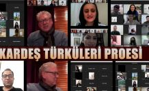 """TÜRKİYE-AZERBAYCAN """"KARDEŞ TÜRKÜLER PROJESİ"""" ETWİNNİNG ETKİNLİĞİ YAPILDI"""