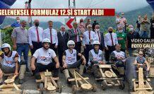 Karadeniz'in gelenekselleşen tahta araba mücadelesi Red Bull Formulaz başladı.