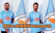 Pazarspor 2 Futbolcu ile anlaştı