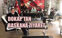 DOKAP'TAN BAŞKAN AYTEKİN'E ZİYARET