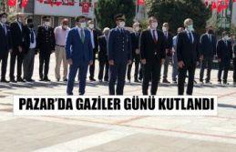 Pazar'da Gaziler Günü Kutlandı