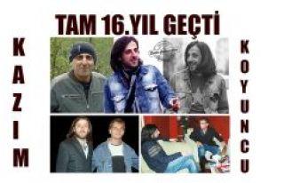 16. YILDÖNÜMÜ ANISINA KAZİM'A YAŞADIM ŞARKILAR...