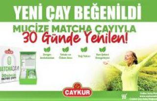 ÇAYKUR'UN YENİ ÜĞRETTİĞİ DETOKS MATCHA ÇAYI...