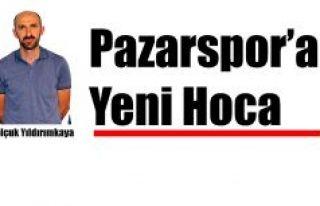 Pazarspor' da Teknik Direktörlüğe Selçuk Yıldırımkaya...