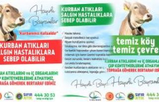 RİZE İL ÖZEL İDARESİ'NDEN KURBAN BAYRAMI ÖNCESİ...