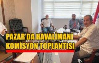 Havalimanı Komisyonu Pazar'da Toplandı