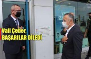 Vali Çeber'den MÜSİAD'a Ziyaret