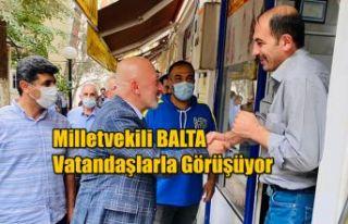 AK PARTİ ARTVİN MİLLETVEKİLİ ERKAN BALTA YUSUFELİNDE...