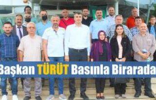 """Başkan Prof. Dr. Hasan TÜRÜT;""""YEŞİL RİZE'DE..."""
