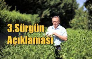 ÇAYKUR'DAN 3.SÜRGÜN ÇAY ALIMLARIYLA İLGİLİ...