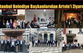 İSTANBUL İLÇE BELEDİYE BAŞKANLARINDAN ARTVİN...