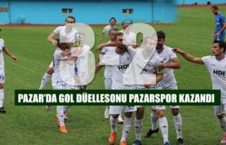 Pazar'da Gol Düellosunu Pazarspor kazandı 3-2