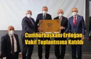 RTEÜ Vakıf Toplantısı Yapıldı