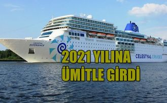 CRUİSES'CİLER 2021'E ÜMİTLİ GİRDİ