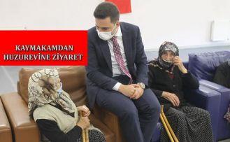 ŞAVŞAT KAYMAKAMINDAN NAİME-İSMAİL YILMAZ HUZUREVİ'Nİ ZİYARET ETTİ.