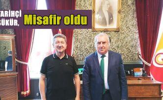 Tarihçi Rıdvan Şükür, Galatasaray Lisesi müdürünün misafiri oldu