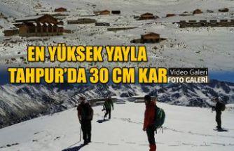 """30 Cm Kar 'da """"TAHPUR"""" Yaylası Gezisi"""