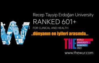 RTEÜ Dünyanın en iyileri arasında