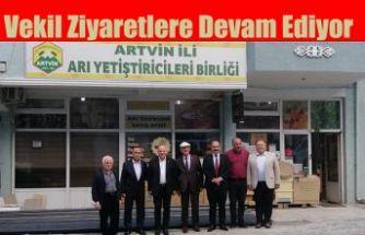 Artvin Milletvekili Bayraktutan Artvin'de peş peşe bir dizi ziyarette bulunarak, etkinliklere katıldı.