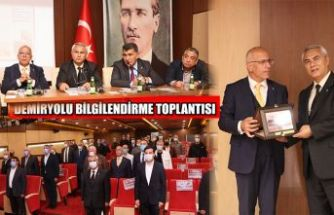 DEMİRYOLU HATTI VE LOJİSTİK SEKTÖRÜ TOPLANTISI