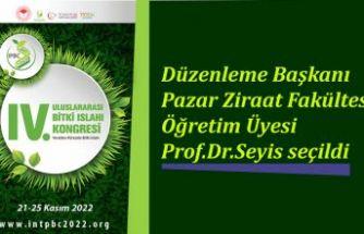RTEÜ Ziraat Fakültesi Öğretim Üyesi Prof.Dr Fatih Seyis görevlendirildi