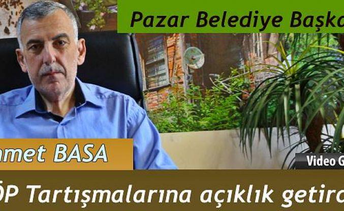 Ahmet Basa ÇÖP le ilgili Açıklama yaptı