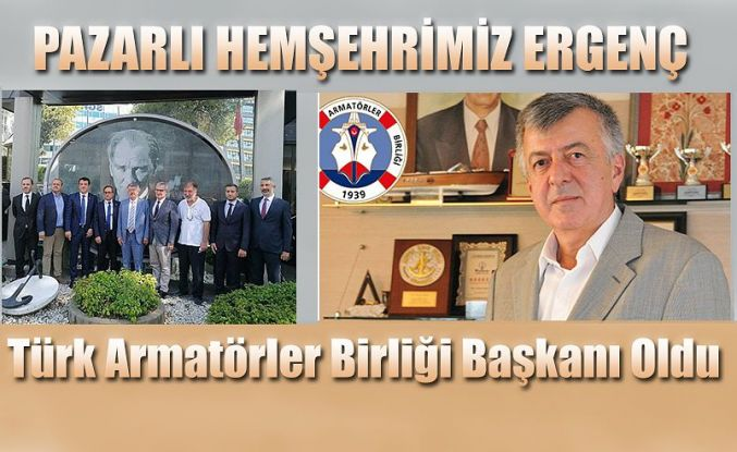 Türk Armatörler Birliği Başkanlığına Cihan Ergenç Seçildi