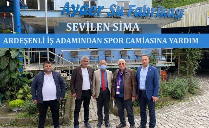 ARDEŞEN'DEN ARTVİN HOPASPOR'A DESTEK