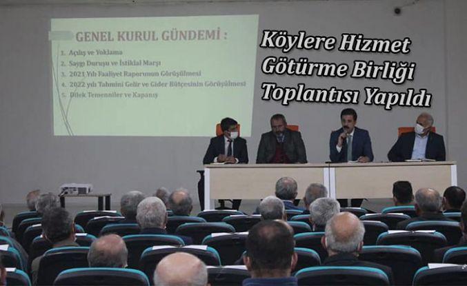 BİRLİK TOPLANTISI YAPILDI