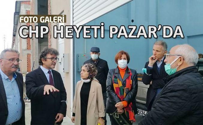 CHP'li Heyet Rize ve İlçelerinde Ziyaretlerde bulunuyor