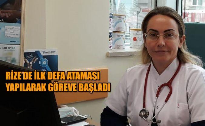 Rize'de çocuk alerji uzmanı göreve başladı